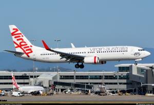 ヴァージンオーストラリア航空の...